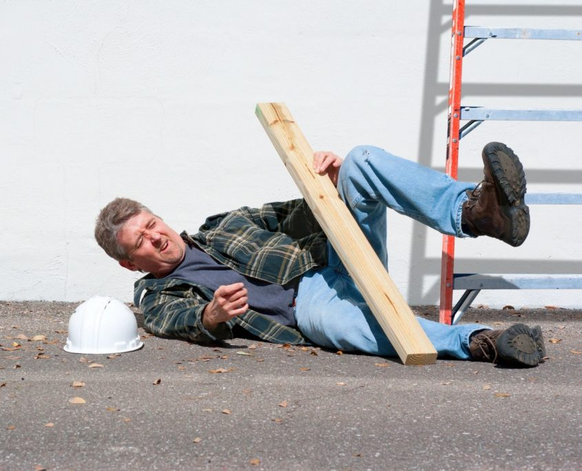 injured man workers compensation insurance