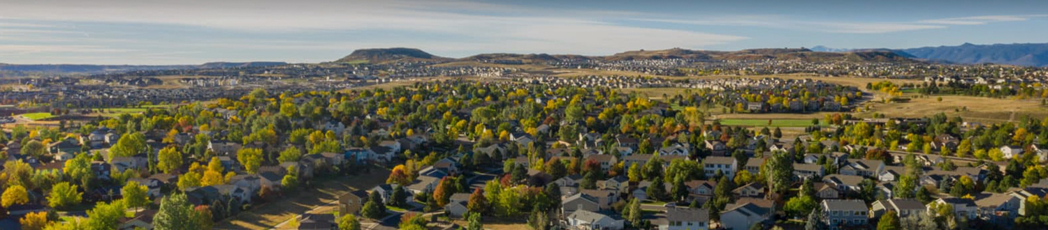 Highlands Ranch aerial view