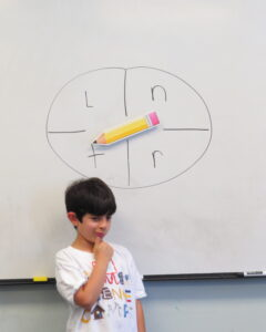 talking games, spin and describe