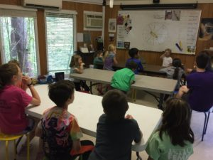 talking games played with a group of students