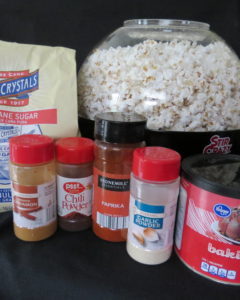 spices to add to popcorn, popcorn writing prompt