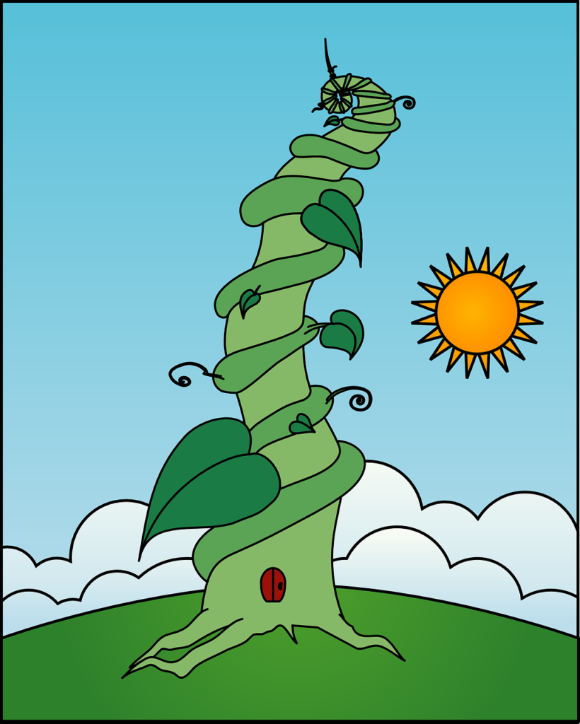 jack and the beanstalk writing prompt, the giant's perspective