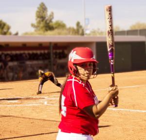 Photo of Natasha Mercado at bat