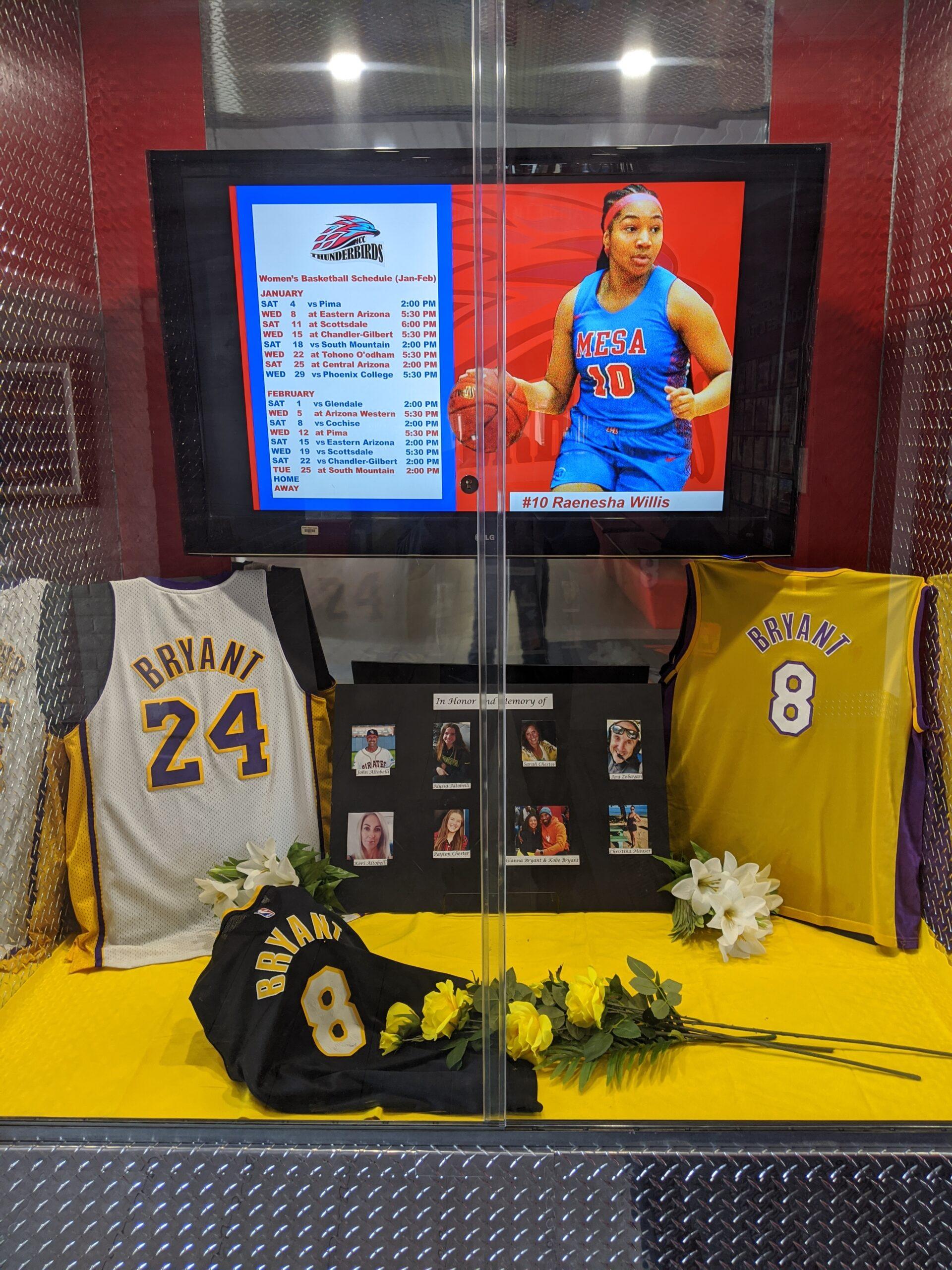 T-Bird Basketball players remember Kobe Bryant