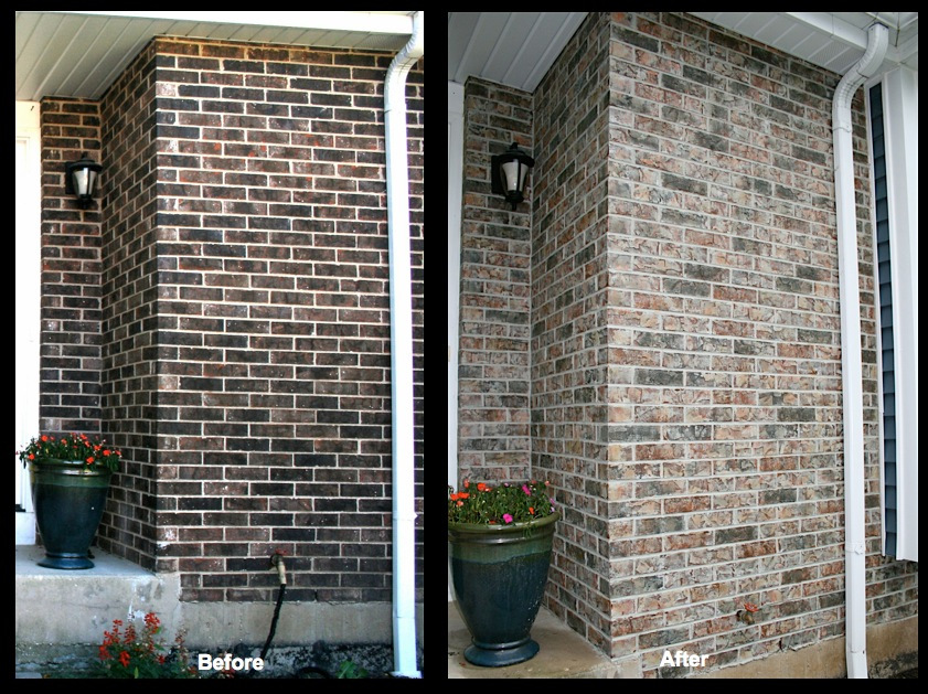 Schaumburg Brick Staining 2