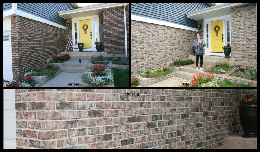 Schaumburg Brick Staiing 1