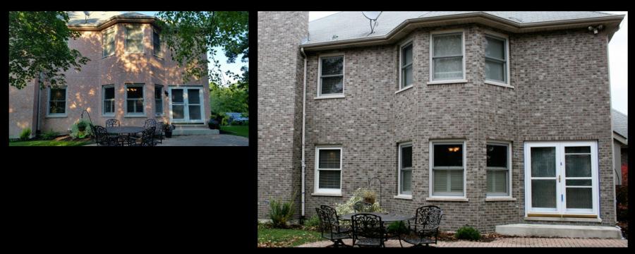 Lemont, IL, Exterior Brick Staining 3