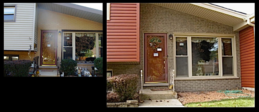 Lombard Exterior Brick Staining  Makeover 1