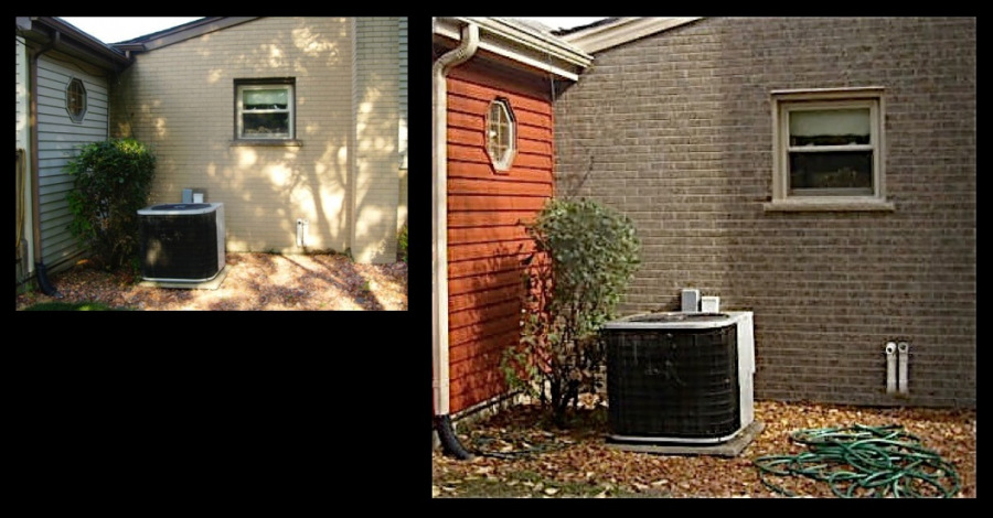 Lombard Exterior Brick Staining Makeover 2