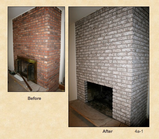 Red-Brick-Fireplace-to-off-white-grey-Before-and-After