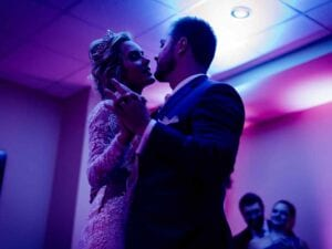 wedding dj near me - bride and groom dance