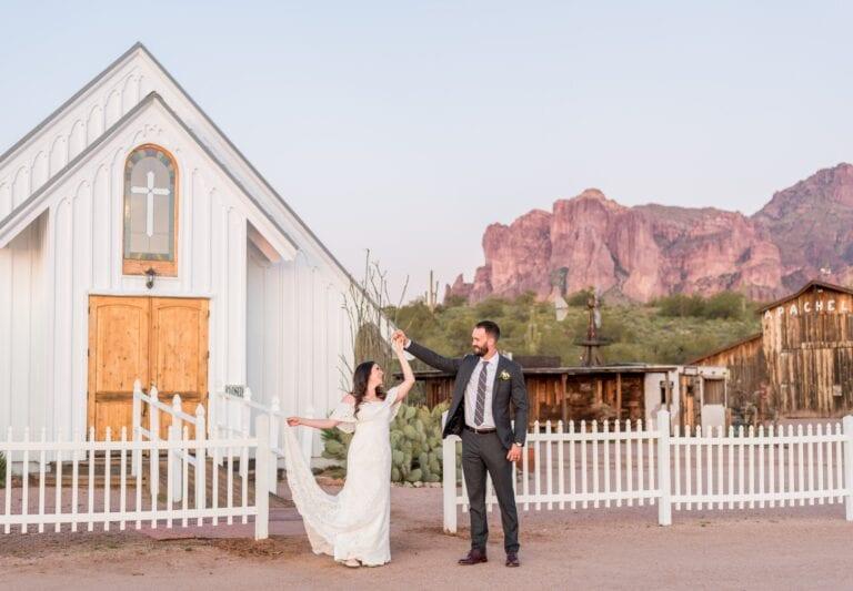 Jessie Lee photography wedding photos from Arizona couple