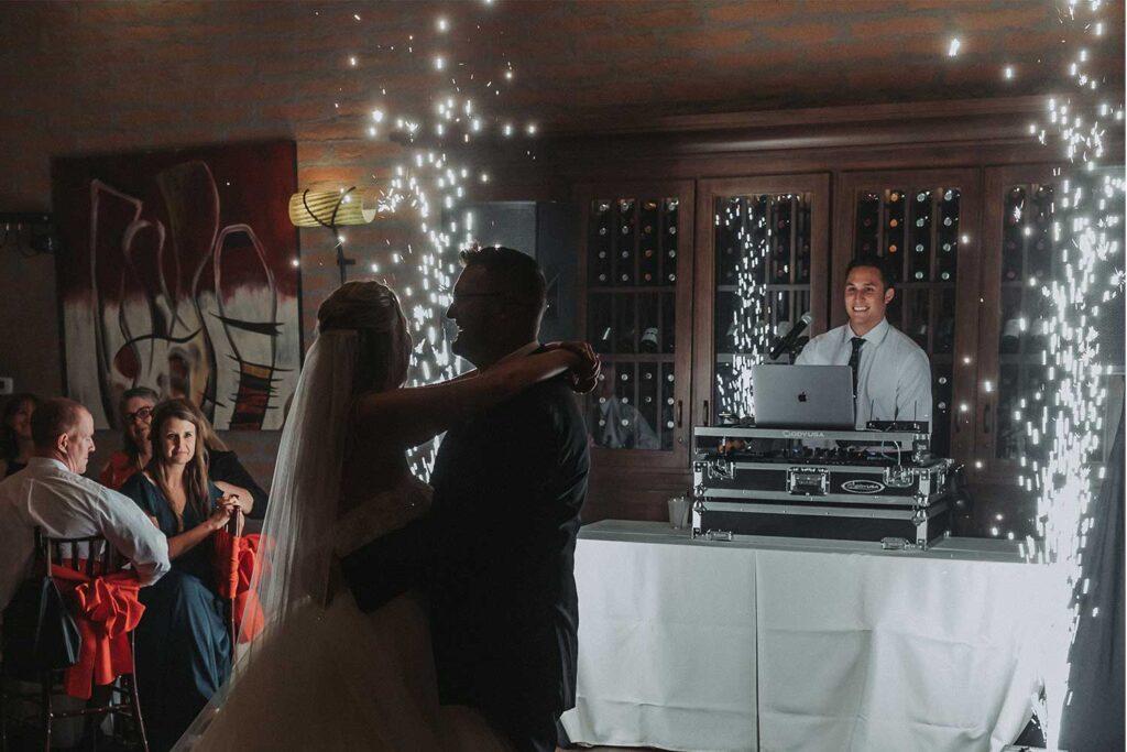 epic wedding sparkler cold sparks effect Arizona Phoenix