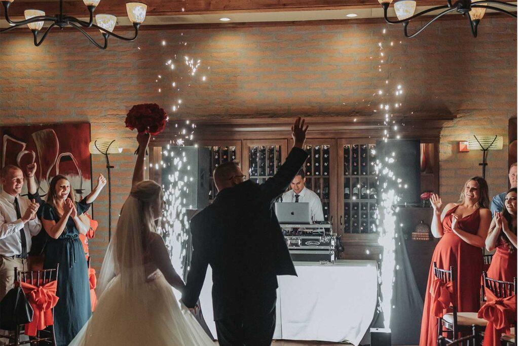 rent wedding sparkler effect machine rental Arizona Phoenix Scottsdale cold sparks