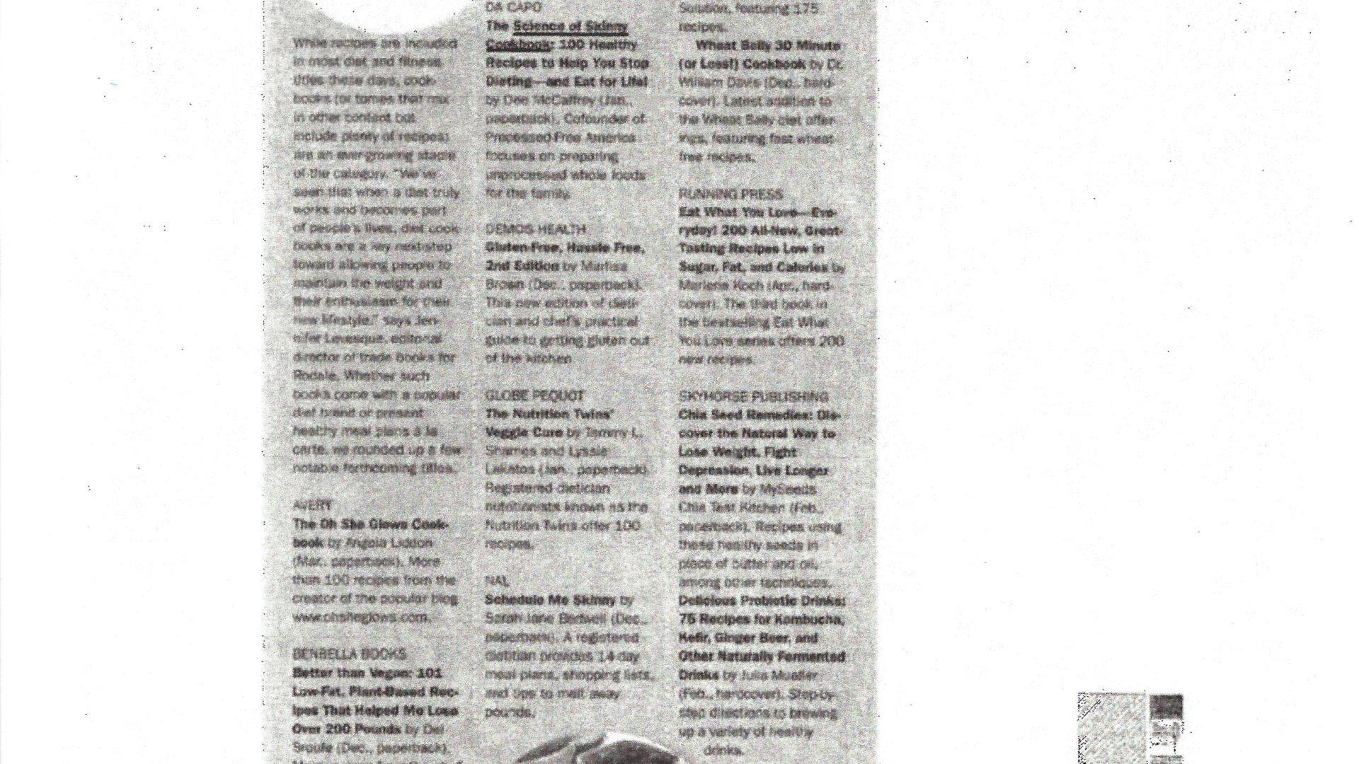 Publishers Weekly November 25, 2013