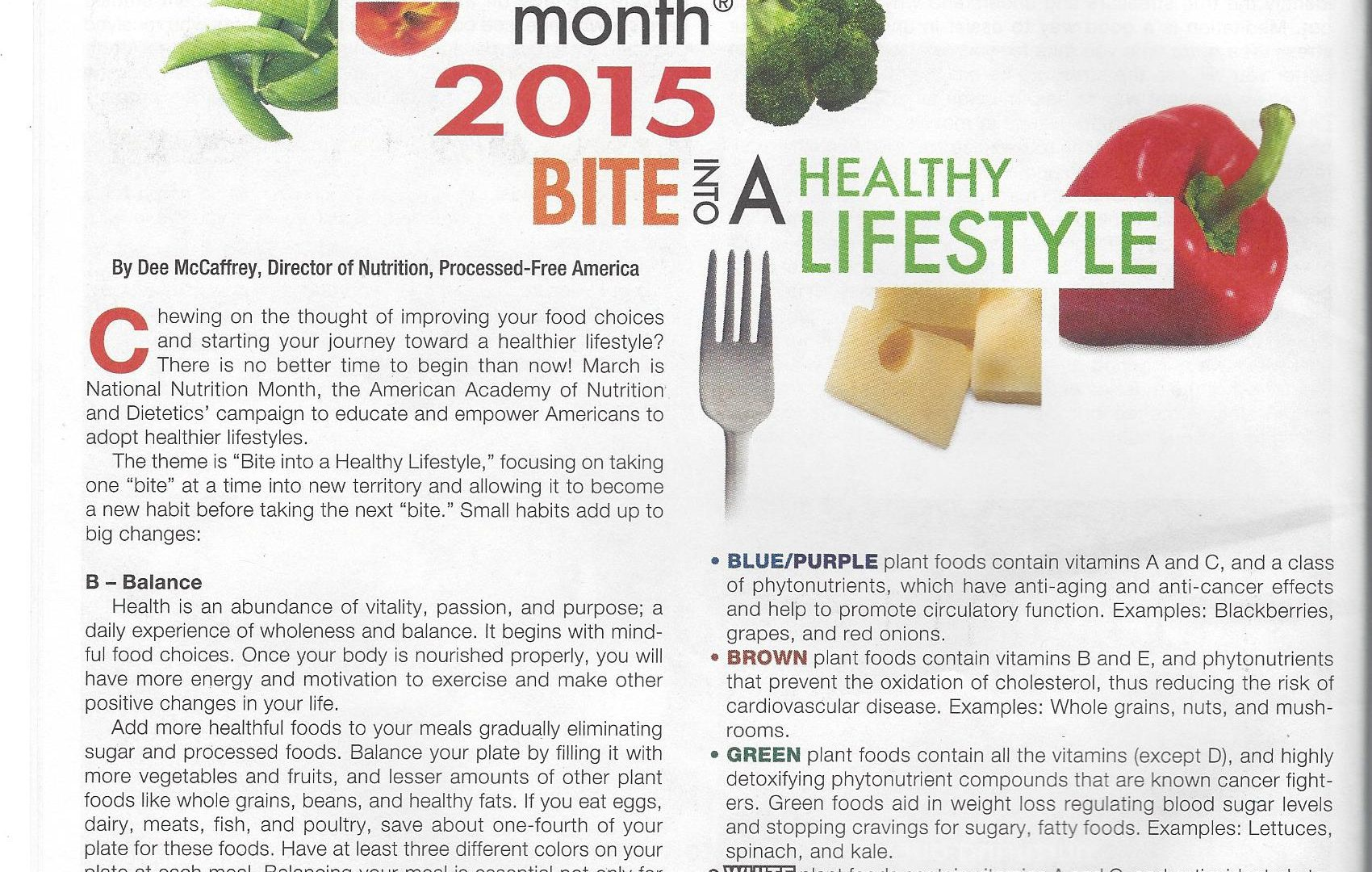 Healthy Cells Magazine March 2015