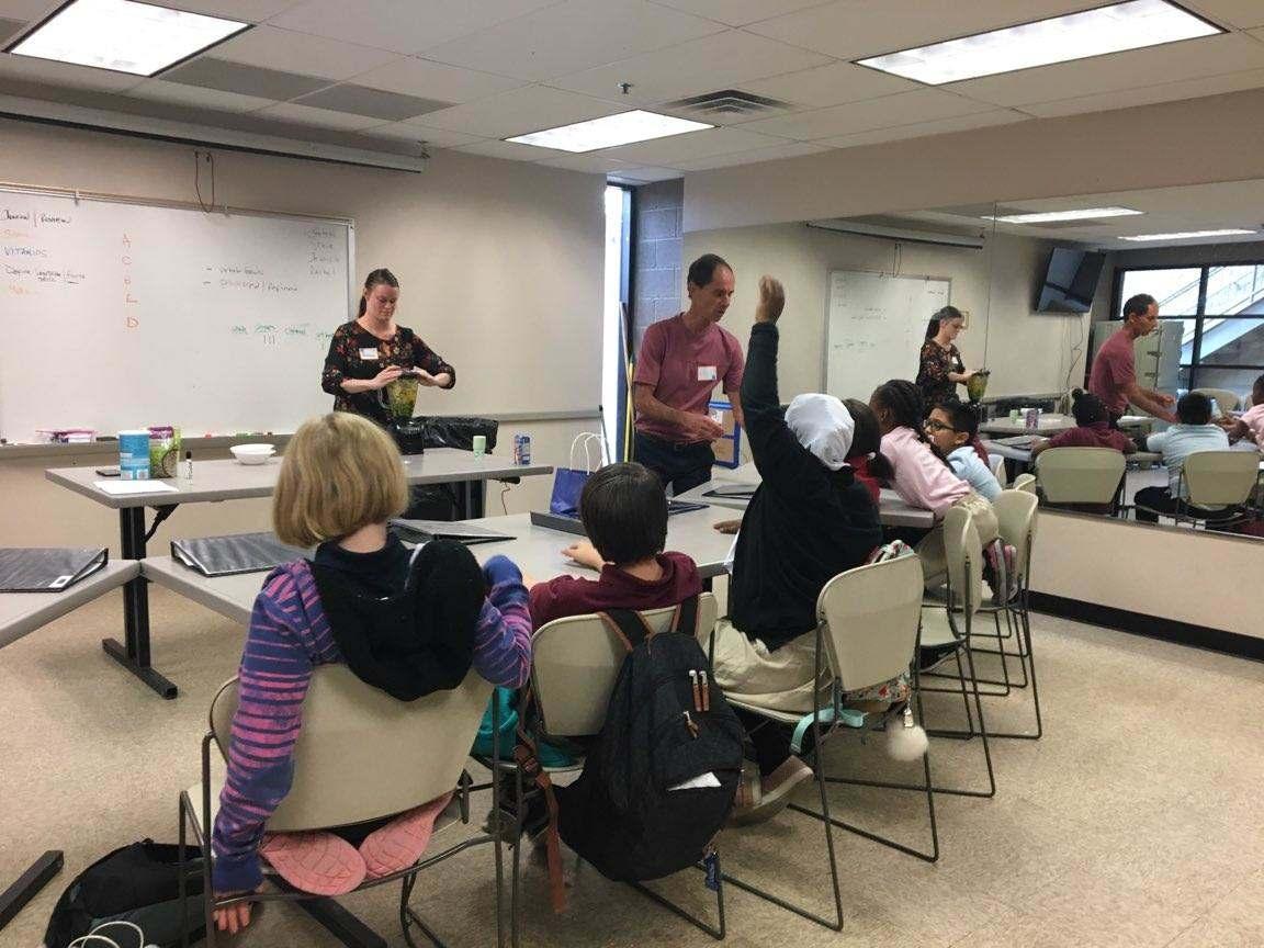 Kids Nutrition Class Spring 2018 Tempe, Arizona