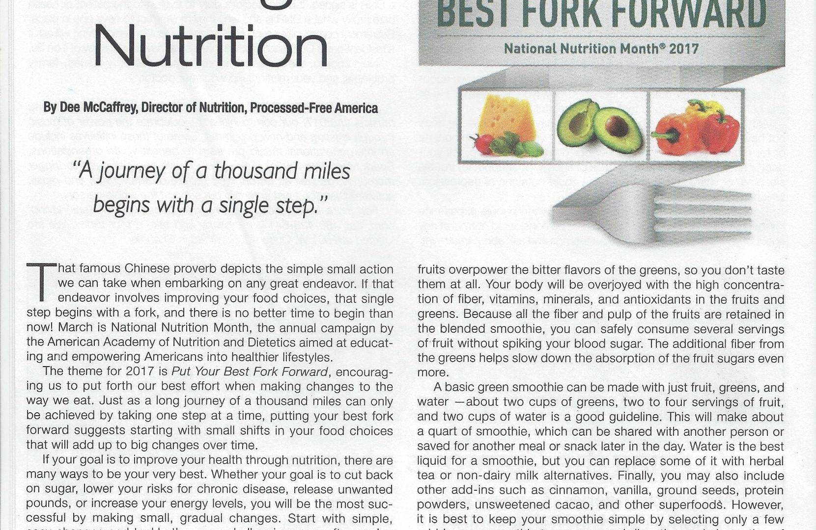 Healthy Cells Magazine March 2017