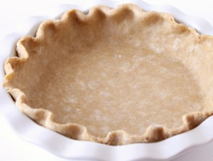 Dee's Whole Wheat Pie Crust