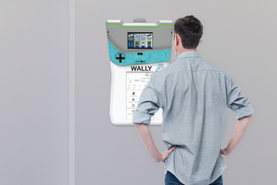 WALLY 2.1 in use doorway 900x600 1