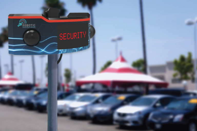 ROSA-in-use-auto-lot-security-900×600