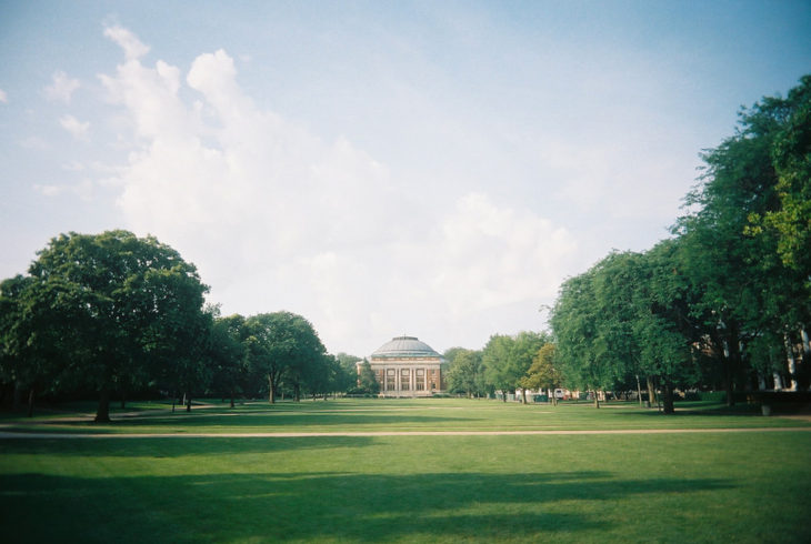 College Campus Grounds