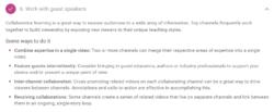 YouTube Creator Academy Collab video tips