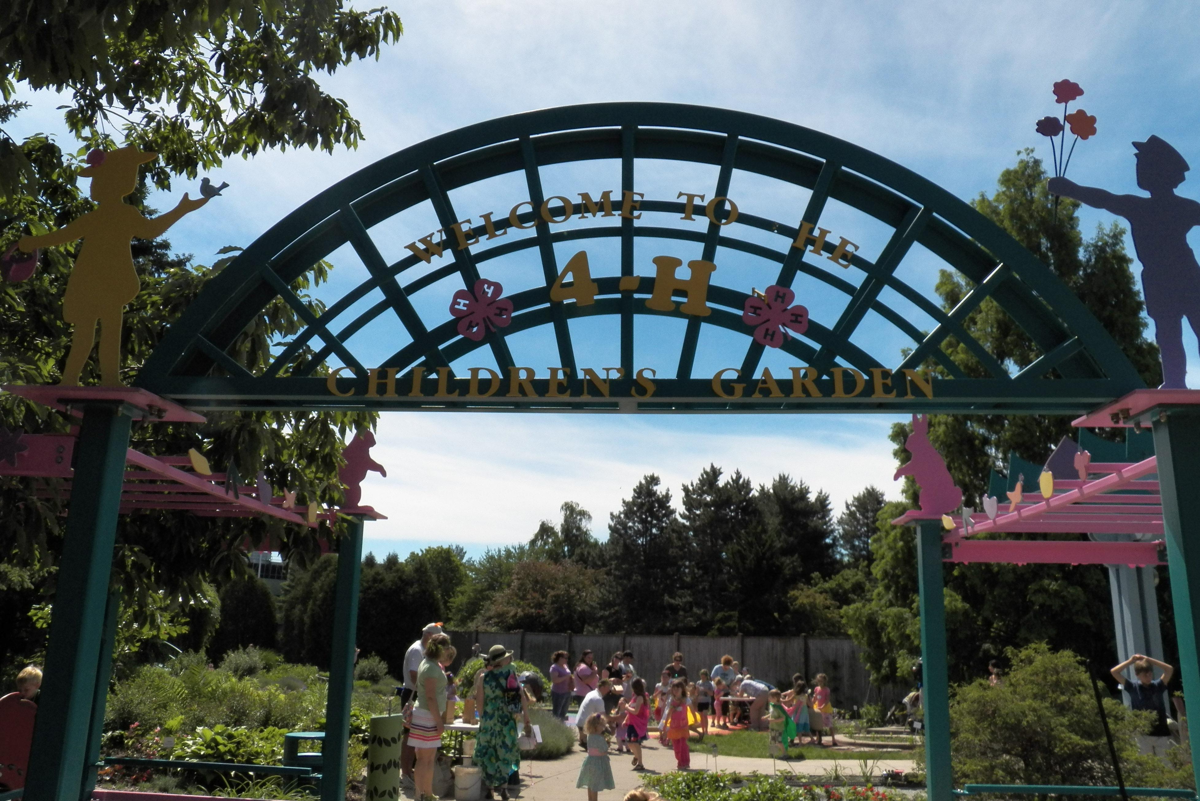 Michigan 4-H Children's Garden