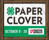 TSC Paper Clover Oct. 9-20, 2019
