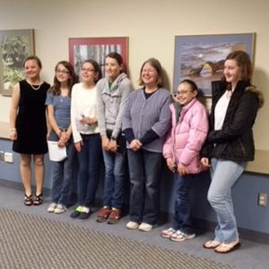 Leelanau County 4-H volunteer Eleanor Miller, of Cedar, believes so strongly in 4-H that she created an endowment to provide support for future generations of 4-H'ers in her county. Miller leads the Hidden Beach 4-H Club, pictured above.
