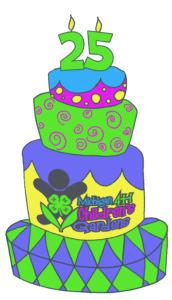 Michigan 4-H Children's Gardens - 25th Anniversary cake image