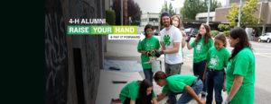 4-H ALUMNI: RAISE YOUR HAND & PAY IT FORWARD! #4HGROWN