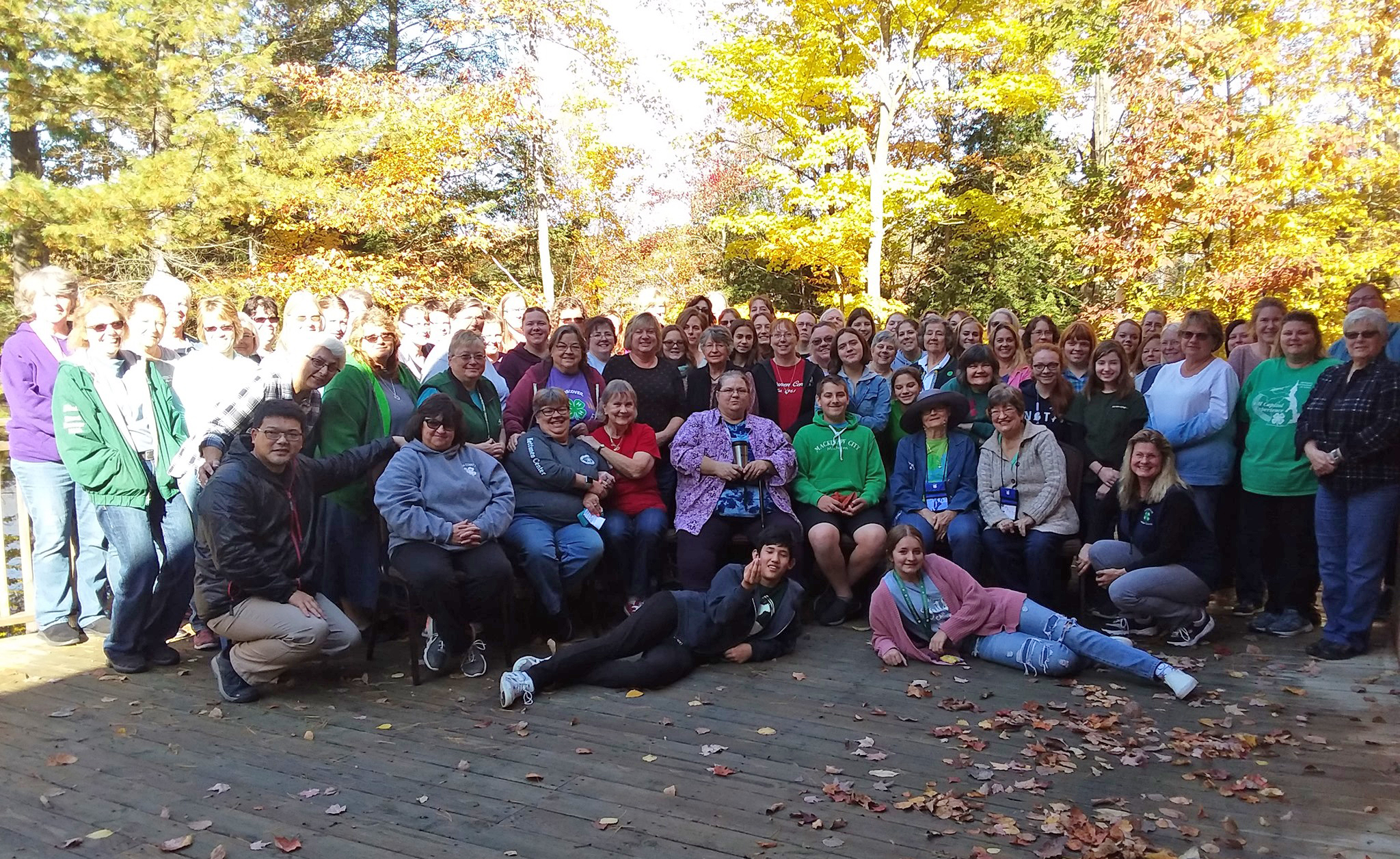 Over 100 participants at Kettunen Center