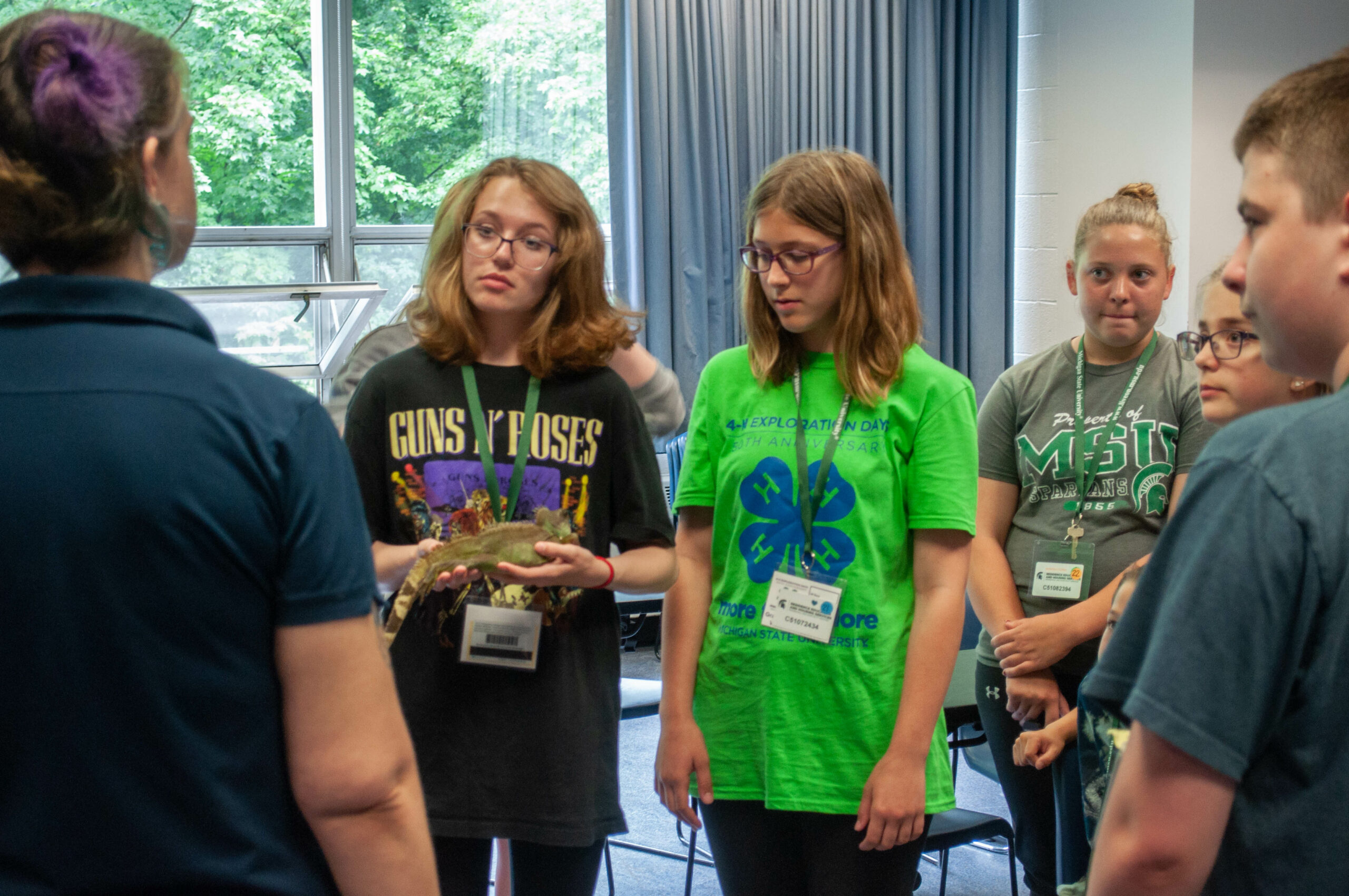 Youth at a breakout session