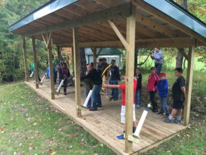 The new Kettunen Center archery and firearms ranges, made possible by Thomas H. Cobb, will provide safe spaces for members of 4-H and other groups to learn and practice shooting sports skills.