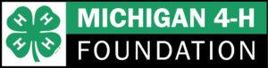 Michigan 4-H Foundation horizontal logo