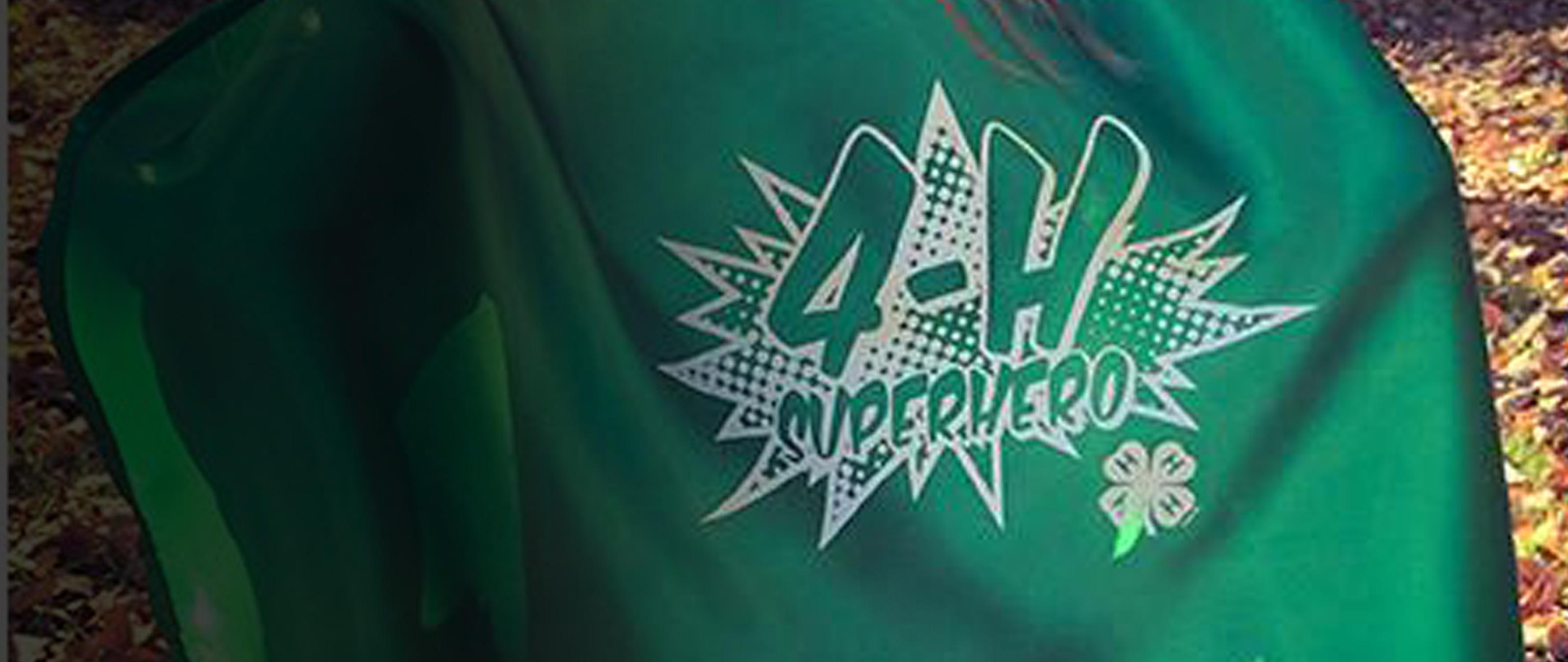 Be a 4-H superhero!