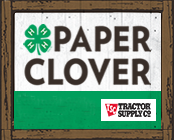 Tractor Supply Co. Paper Clover
