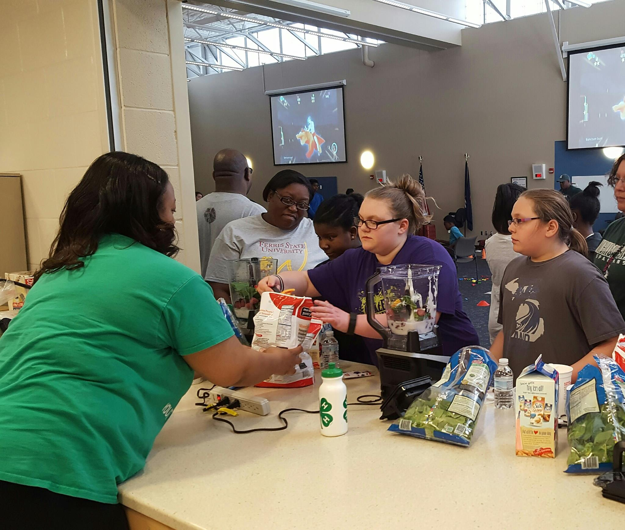 Innovative healthy living programs, camps and community gardens centered on nutrition and physical fitness were made possible both statewide and in 10 counties by the Walmart Youth Voice: Youth Choice grant.