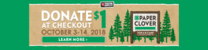 4-H Paper Clover. Donate $1 at your local Tractor Supply Company store October 3-14, 2018. Learn more.