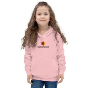 pink kids hoodie