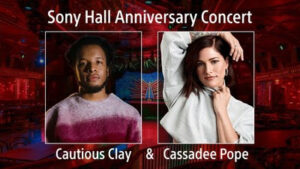 sony hall anniversary concert
