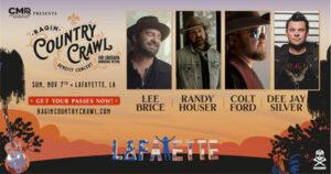 ragin country crawl lineup