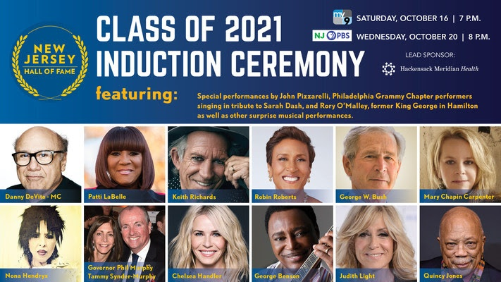 New Jersey Hall of Fame Announces Lineup for Induction Ceremony