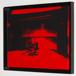 andy warhol's little electric chair