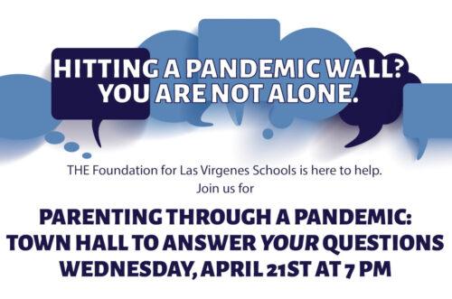 T.H.E. Foundation for Las Virgenes Schools– Parenting Through a Pandemic