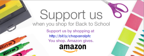 Make your Amazon purchases work for our school!
