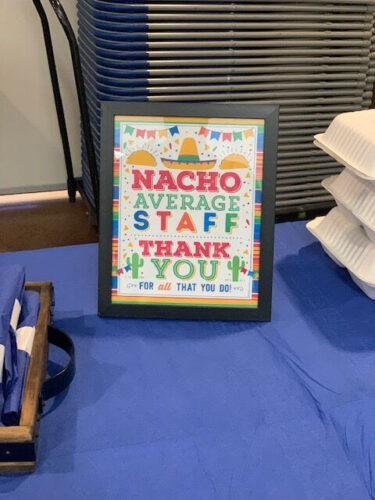 Staff Appreciation Week – THANK YOU
