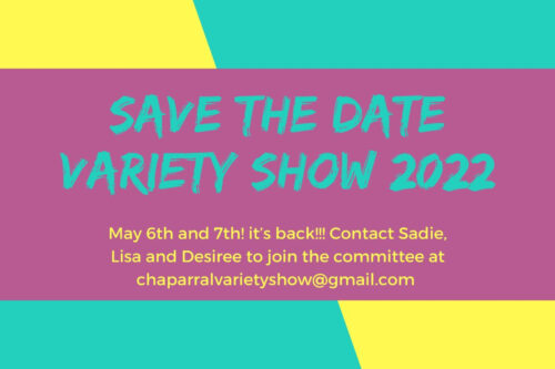 Save the Date – Variety show