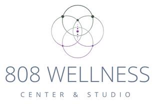 808 Wellness Healing Spa & Maui Yoga Studio Logo